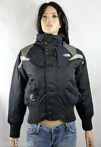 22ce0fb605f2 The North Face Women s Steep Tech Bomber Snow Jacket Black NWT  299 ...