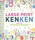 Large Print Kenken(r) by Tetsuya Miyamoto (Spiral bound)