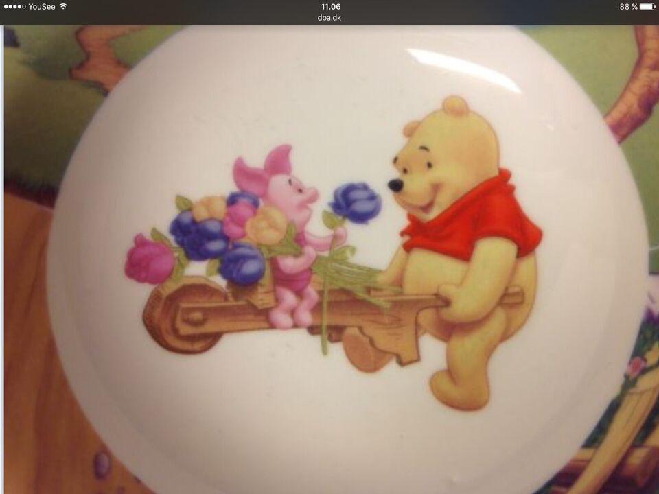 Børneservice, Ældre Tallerkener Ældre porcelæn Service,