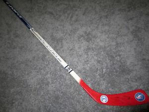 SETH JONES Columbus Blue Jackets SIGNED Autographed Hockey Stick w