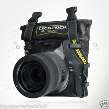 New 2015 DiCAPac WP-S5 100% Waterproof Case for SLR DSLR Camera Housing Case