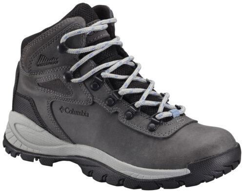 Women/'s Columbia Newton Ridge Plus Waterproof Hiking Boot Wide Quarry//Cool Wave