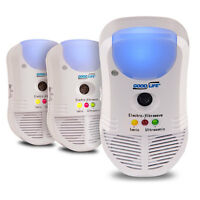 Pest Repeller Ultimate At 3-pack Sale: Plug-in Electronic Pest Control Device