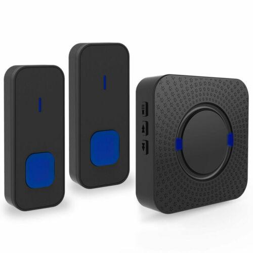 NEU Wireless Türklingel Funkklingel Funk Klingel Türglocke 1//2 Sender Empfänger
