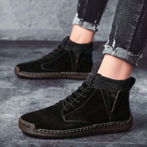 Botas De Nieve Para Hombre Zapatos De Invierno Con Piel Felpa Clientes Elegante