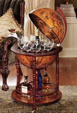 16th Century Old World Globe Replica Drinks Bar
