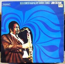 JOHN COLTRANE selflessness my favorite things LP VG+ SIPL 522 Stereo UK 1969