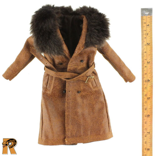 1//6 Scale Daisy Domergue Prisoner Asmus Action Figures Brown Over Coat