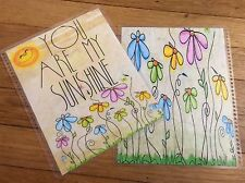 *You Are My Sunshine* Front/Back Cover Set for use w/ Erin Condren Life Planner