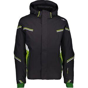 wie man wählt am besten billig offiziell Details zu CMP Skijacke 3W03277 Man Jacket Zip Hood Herren Winterjacke grau  antracite
