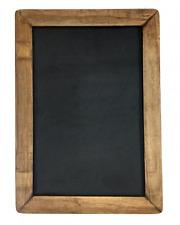 "Vintage Framed Slate Kitchen Chalkboard (10"" x 14"") - Decorative Chalk Board"