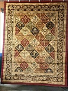 Red-Designer-Floral-8x10-area-rug-for-the-home-New-Just-Beautiful-ROOM-SIZE
