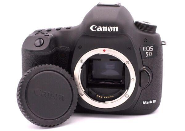 100% Vrai Canon Eos 5d Moelle Iii 22.3mp Caméra Slr Numérique - (corps Seulement) En Quantité LimitéE