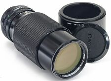 CANON FD 70-210mm F4 + Hood BT-58