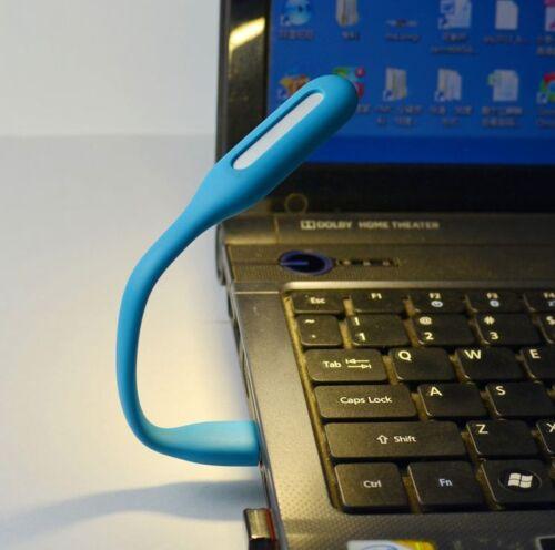7st Mini Portable USB LED Lampada Lettura Light Lampada in modo flessibile SUPER LUMINOSO VERDE