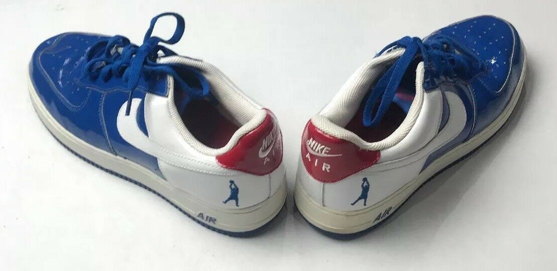 Pre-Owned 2006 Nike AF1  Sheed  Low bluee White Varsity Red Sz 11.5