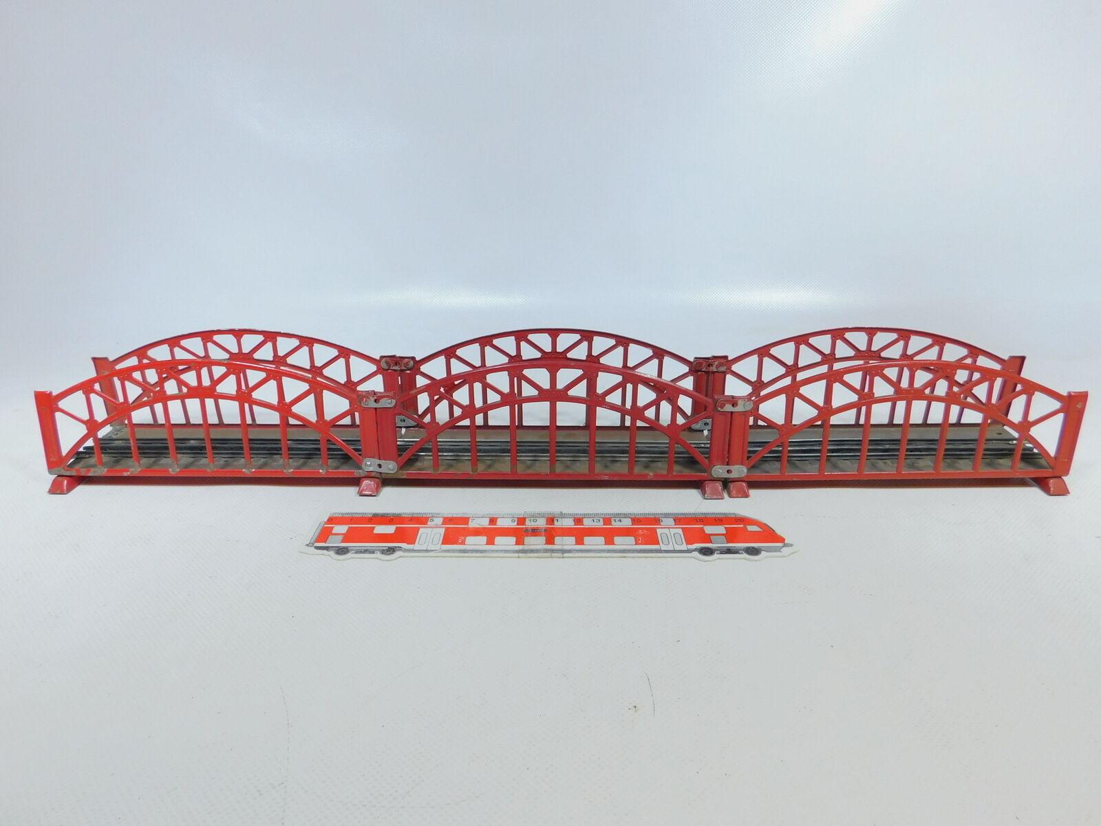 By7912  3x marklin h000ac 4672 ponte di lamiera MBinario per 3600800, 2. scelta