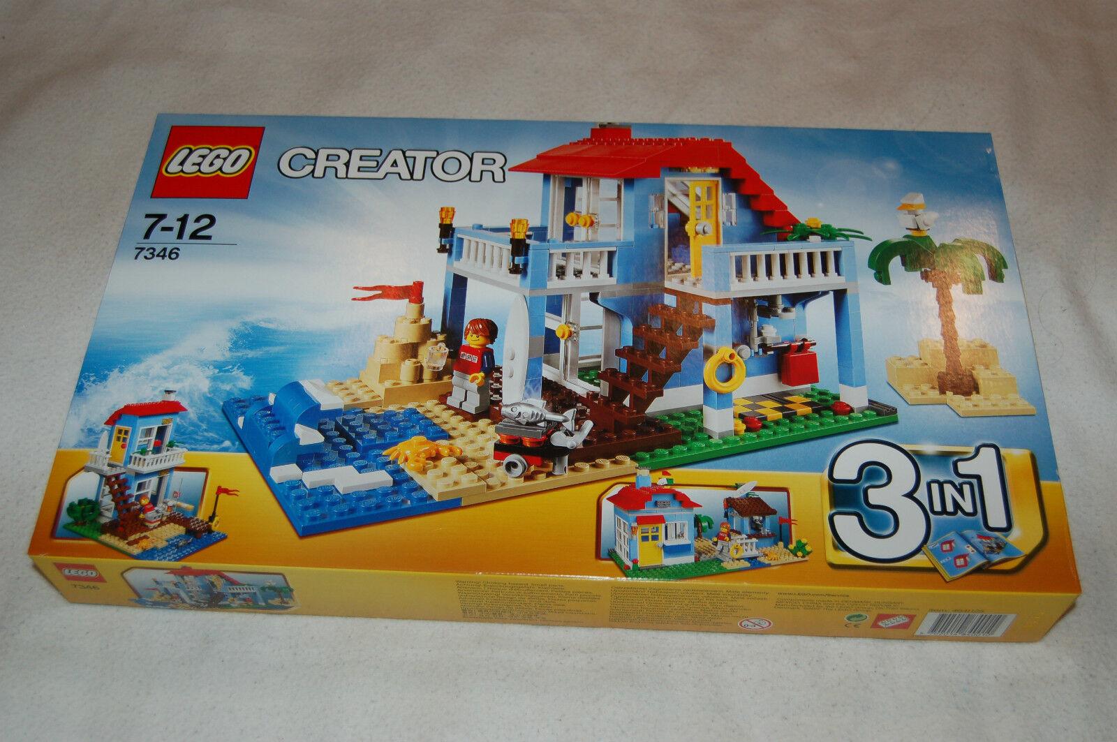 LEGO LEGO LEGO Creator 7346 maison de plage Nouveau et non ouvert d58274