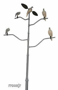 MOJO-MOURNING-DOVE-PIGEON-DECOY-TREE-MOUNTING-STAND-W-CARRYING-BAG-VOODOO-NEW