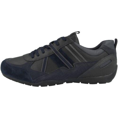 Geox U Ravex A Chaussures Hommes Sneaker Loisirs Chaussures Basses Lacets u043fa000mec