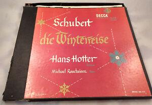 Hans-Hotter-Michael-Raucheisen-2-LP-Box-Set-Schubert-Die-Decca-111-Rare-Early