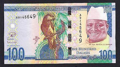 GAMBIA 10 DALASIS 2015 UNC P-NEW