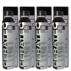 4x-300ml-liqui-Moly-3721-Ceratec-ceramica-verschleissschutz-petroleo-aditivo