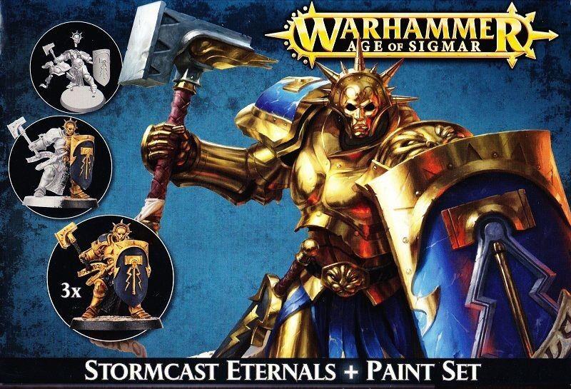 Age of Sigmar Stormcast Eternals Paint Set of Citadel Paint Colours Tabletop GW