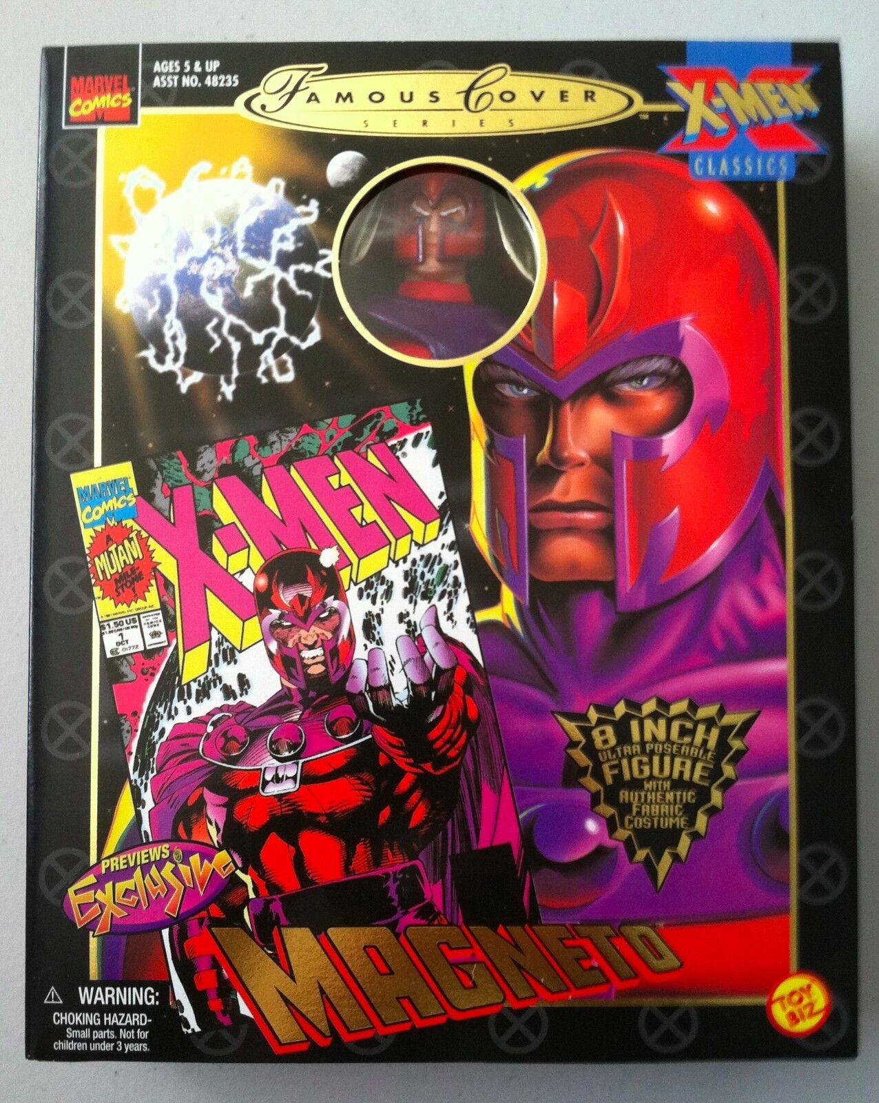 Marvel Universe Legends Retro Style MAGNETO XMEN Action Figure BRAND NEW