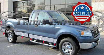 2009-2014 Ford F-150 Regular Cab 6.5/' Short Bed Rocker Panel Trim-10pc w//Flare