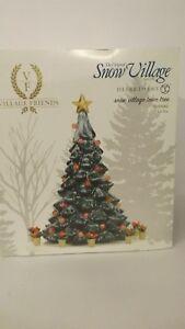 Dept-56-Snow-Village-Friends-Snow-Village-Town-Tree-4059142-Lites-Up-w-Free-Tote