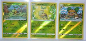 Cartes-Pokemon-TORTIPOUSS-6-156-TORTIPOUSS-7-156-BOSKARA-8-156-REVERSE-NF