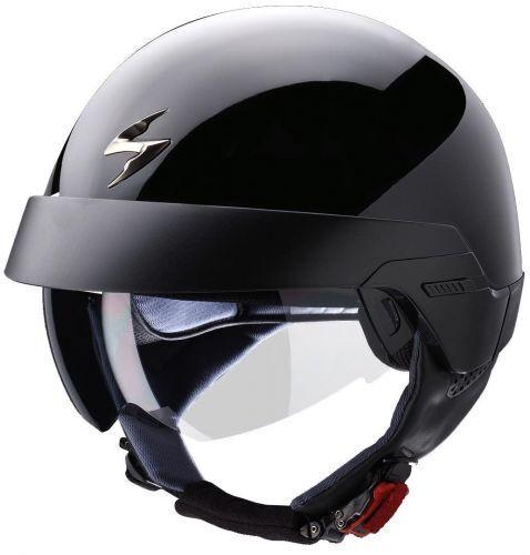 SCORPION EXO 100 Solid Nuovo 2018 MODELLO MOTO attrezzatura MOTORCYCLE moto