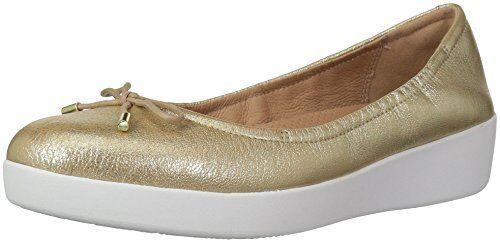 FitFlop Damenschuhe SUPERBENDY Ballerina Flat- Ballet Flat- Ballerina Pick SZ/Farbe. b20334