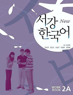 Sogang Korean 2A Workbook w/ CD Korean language Free Ship