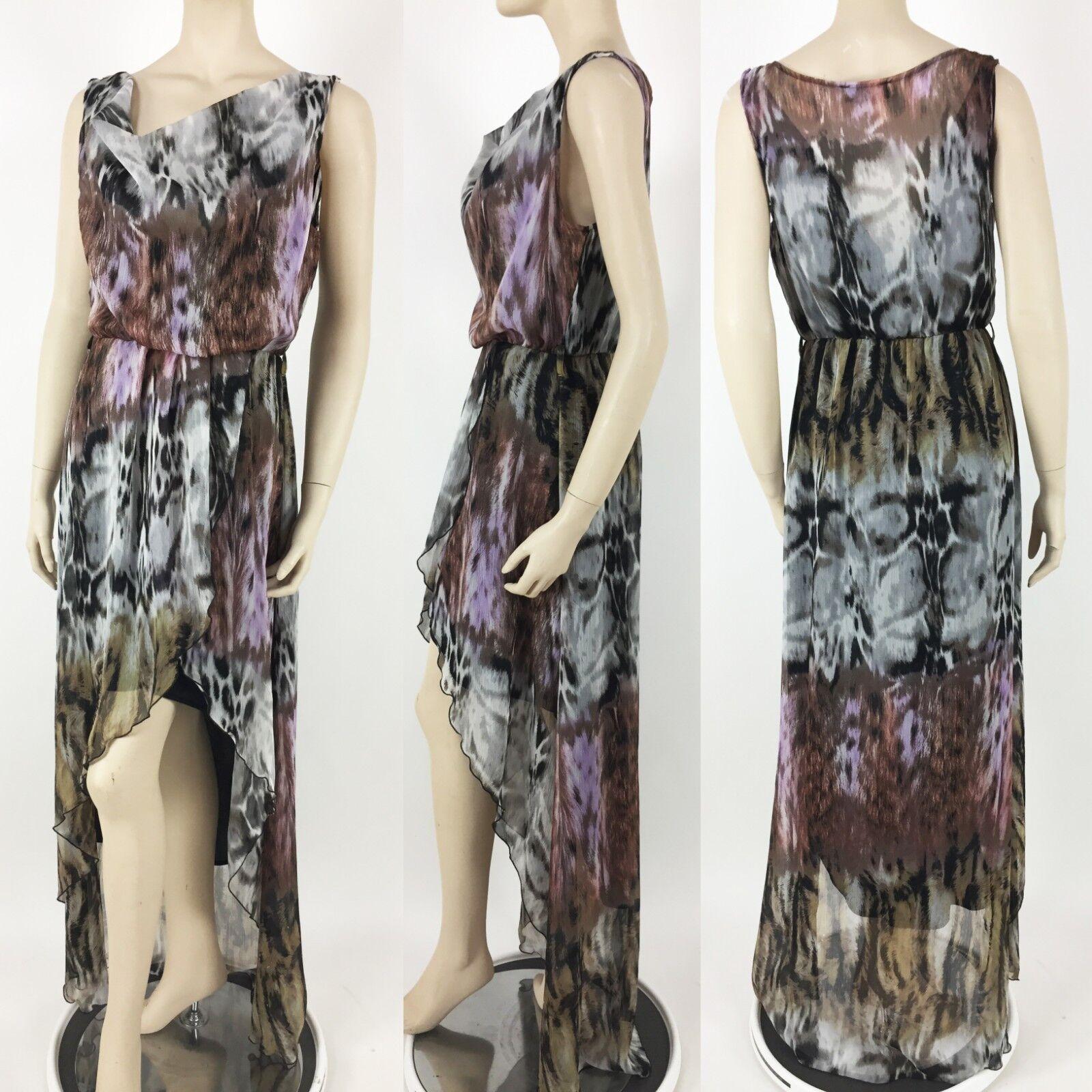 Casting Womens High Low Dress Size Small Boho Hi-Lo Hi-Lo Hi-Lo S Made in France  225 d70bdd