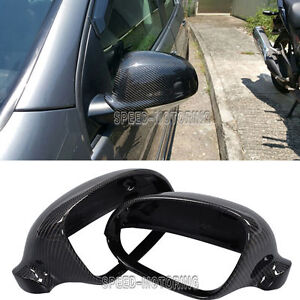 Replacement-Carbon-Side-Mirror-Covers-Cap-for-Volkswagen-Golf-5-V-MK5-GTI-R32