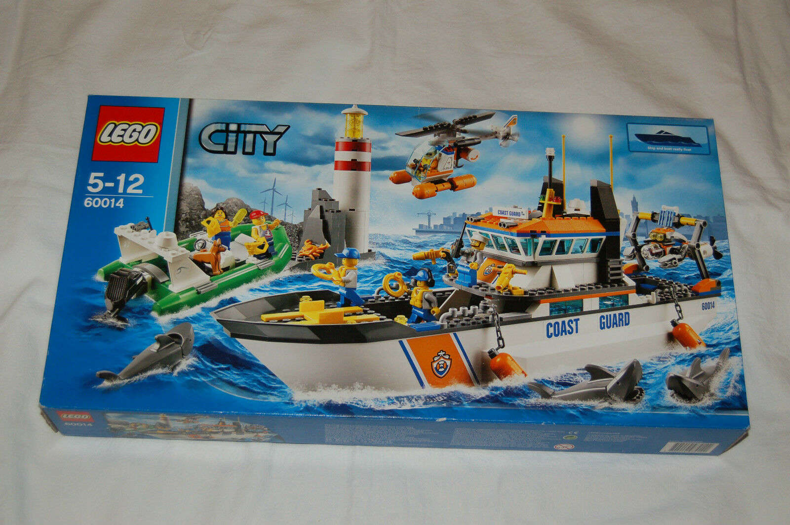 Lego City 60014 garde-côtes sauvetage Croiseur Coast Guard NOUVEAU  S'adapte à 60167