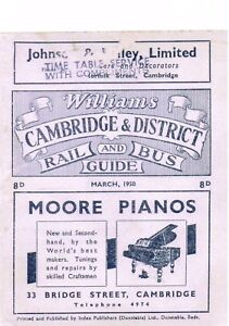 WILLIAMS-CAMBRIDGE-amp-DISTRICT-RAIL-amp-BUS-GUIDE-MARCH-1950-COMPLIMENTARY-COPY