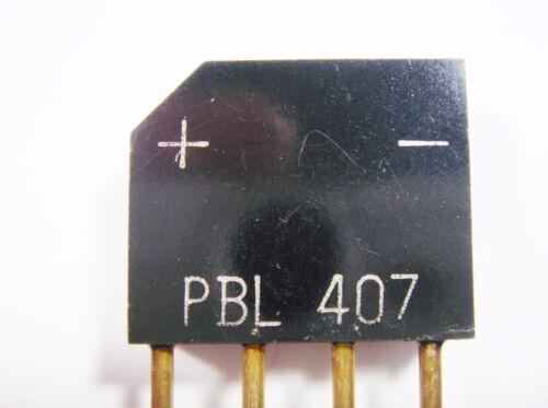 Bridge Rectifier 4a 700v pbl407 #1-1004