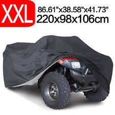 Quad ATV Cover Abdeckplane Abdeckung Faltgarage Wasserdicht Staub XXL Größe 190T