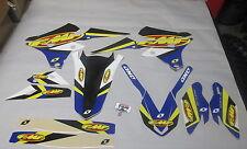 YAMAHA YZF250 YZF450 2014-2016 One Industries FMF Racing graphics kit 1G57