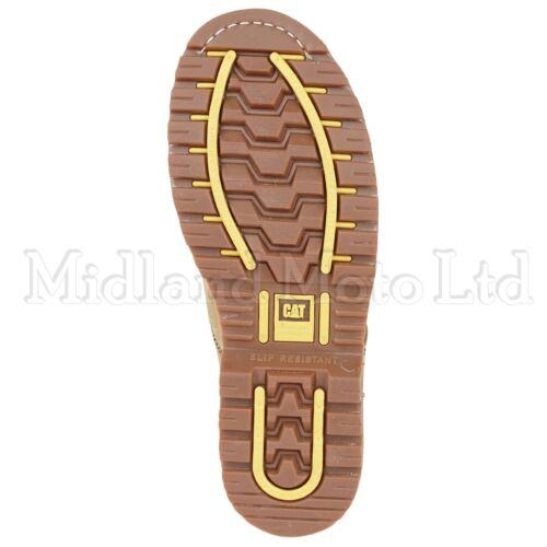 c783fccd368 Tracker Steel Sb Toe Boots Cap 7002 Nubuck Honey Caterpillar Shoes ...