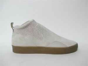 buy popular 47251 a4d1f Image is loading Adidas-3ST-002-Cream-Brown-Gum-Sz-11-