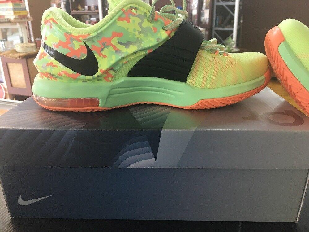 Nike kd vii 7 pasqua calce tramonto liquida viper verde nero tramonto calce 653996 304 taglia 9 d98 262d0c