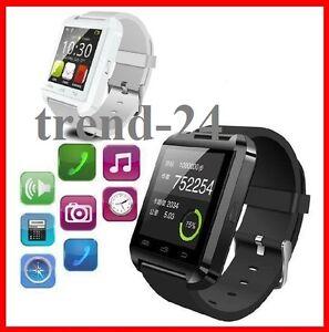 Smart-Watch-SmartWatch-Uhr-Fitnessuhr-schwarz-oder-weiss