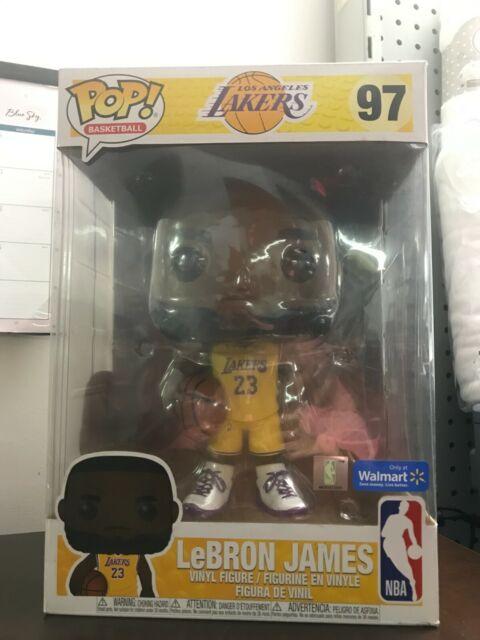 98 Lebron James Funko Pop Basketball Los Angeles Lakers Figure ...