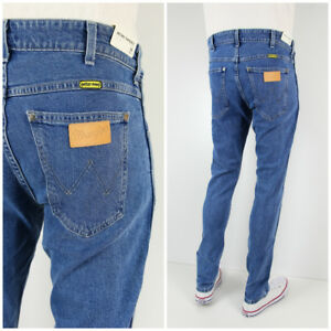 5d89d544 NEW WRANGLER by PETER MAX TAPERED SLIM JEANS RETRO FIT LARSTON ...