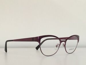 92fbd7e5dc79 76 Versace MOD 1240 1397 Cat Eye Plum Purple Medusa Frame Eyeglasses ...