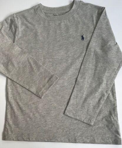 New Boys Ralph Lauren Cotton Jersey Crewneck T-Shirt 5Years